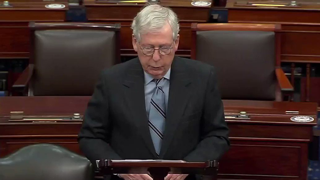 """Sen. Mitch McConnell: """"Protecting democracy cannot be a partisan issue."""""""