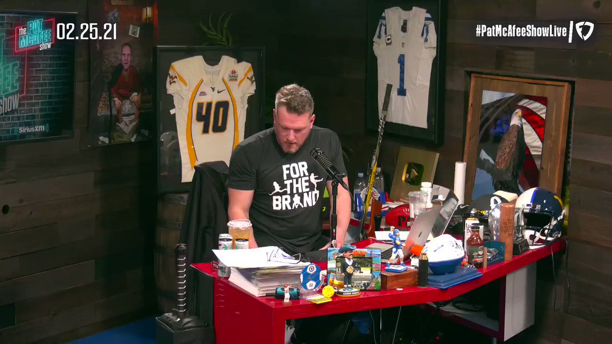 I sent out a text to @JJWatt  WHAT!?  I asked is ANY of the information out there being reported about you legitimate?  WHAT!?  He responded.. #PatMcAfeeShowLIVE