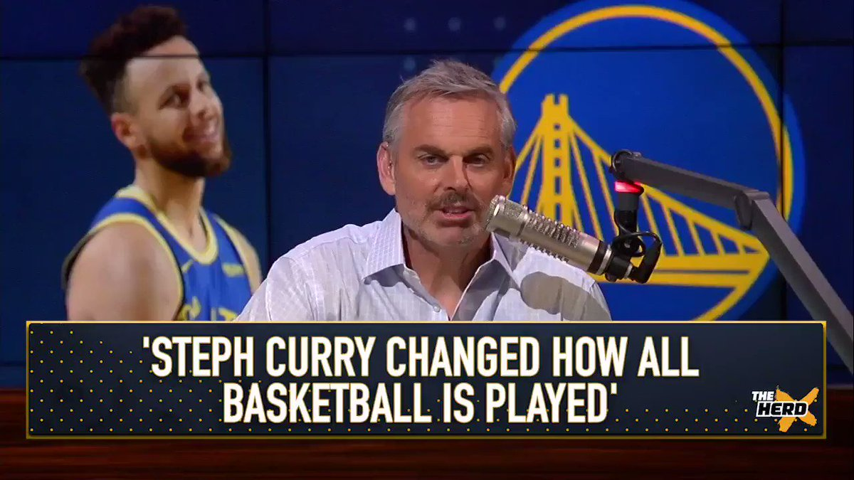 """""""People talk about Devin Booker being disrespected. Has he won multiple titles or been unanimous MVP? What has he done? Stephen Curry is completely disrespected.""""   — @ColinCowherd"""