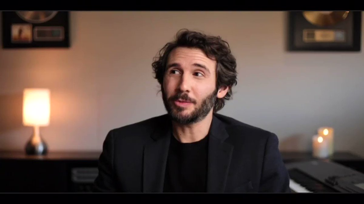 """During #WWHL, @JoshGroban shared the best advice he's received from Céline Dion: """"Be kind to people."""""""