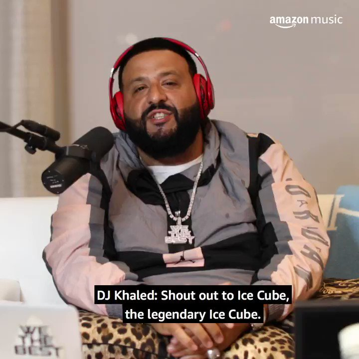 "Iconic rapper, actor, filmmaker and producer @icecube discusses his legendary career w/ @djkhaled on ""The First One."" He goes deep on his meteoric rise, his early days with Eazy-E + @drdre, and what keeps him inspired. Listen now, only on Amazon Music 🎧:"
