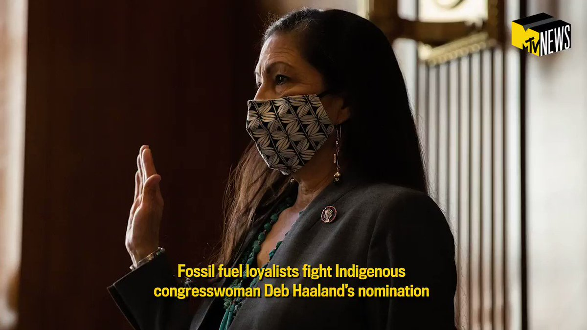 Deb Haaland is in line to become the next Interior Secretary, but not without serious pushback from Big Oil loyalists. Haaland would be the first Indigenous person to hold the position. @YoonjKim has what you #NeedToKnow about the historical significance of the role