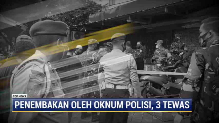 Anggota Polsek Kalideres, Jakarta Barat, Bripka CS ditetapkan sebagai tersangka atas kasus penembakan di RM Kafe Cengkareng, yang menewaskan satu anggota TNI dan dua pegawai kafe. #TopNewsMetroTV