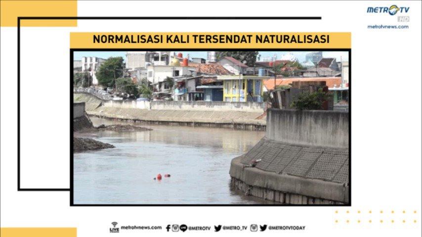 NORMALISASI KALI TERSENDAT NATURALISASI |  Program pengurangan risiko banjir seperti normalisasi kali, justru terhenti karena ide naturalisasi Gubernur Anies Baswedan yang tak kunjung tereksekusi. #PrimeTimeNews