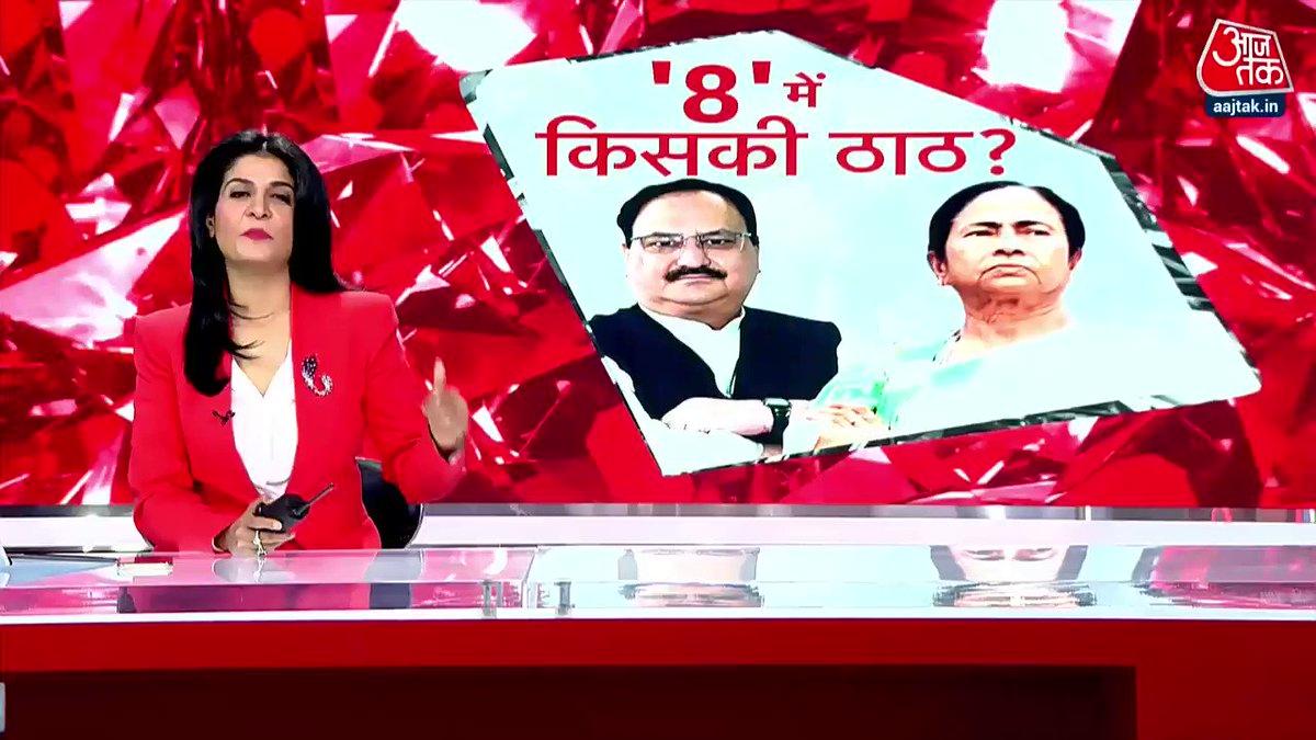 बंगाल में 8 चरणों में होंगे चुनाव, 27 मार्च को होगी पहली वोटिंग #हल्ला_बोल पूरा शो-  #Election2021 #WestBengalElections2021 @anjanaomkashyap