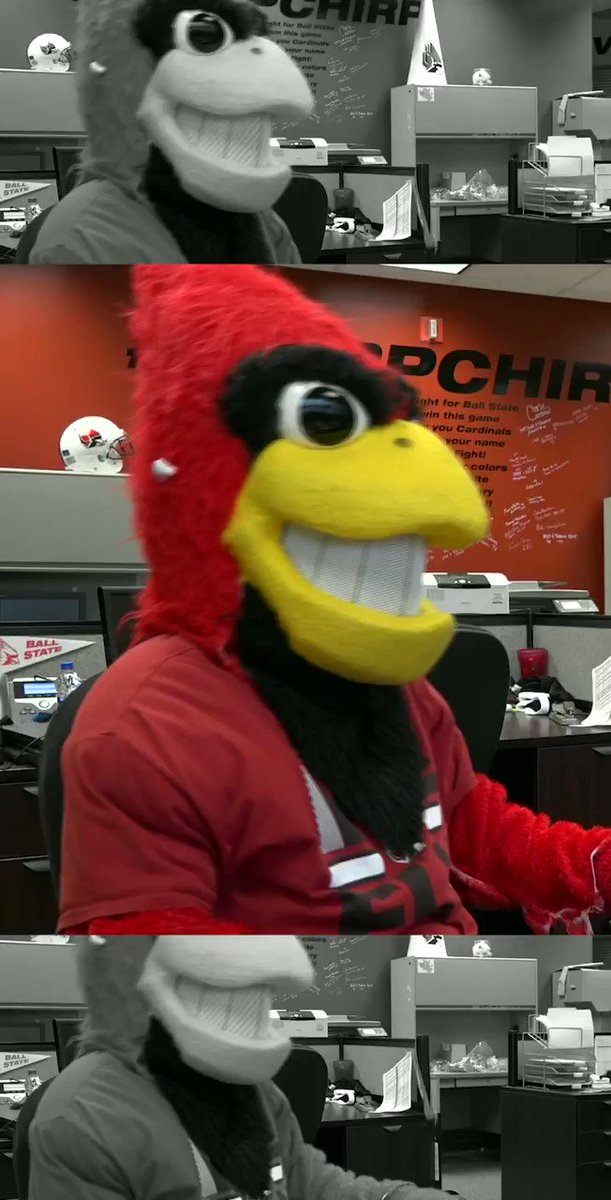 """The 2021 @BallStateFB schedule is out!   @CharliesChirps put together a special """"Cardify"""" playlist just for the reveal. You'll want to check it out.  #ChirpChirp 