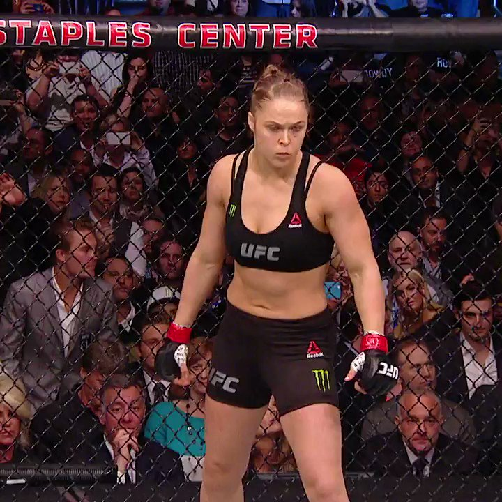 :1️⃣4️⃣  #OnThisDay - @RondaRousey secured a perfect title defense 🏆  [ Watch more Rousey classics on @UFCFightPass ]