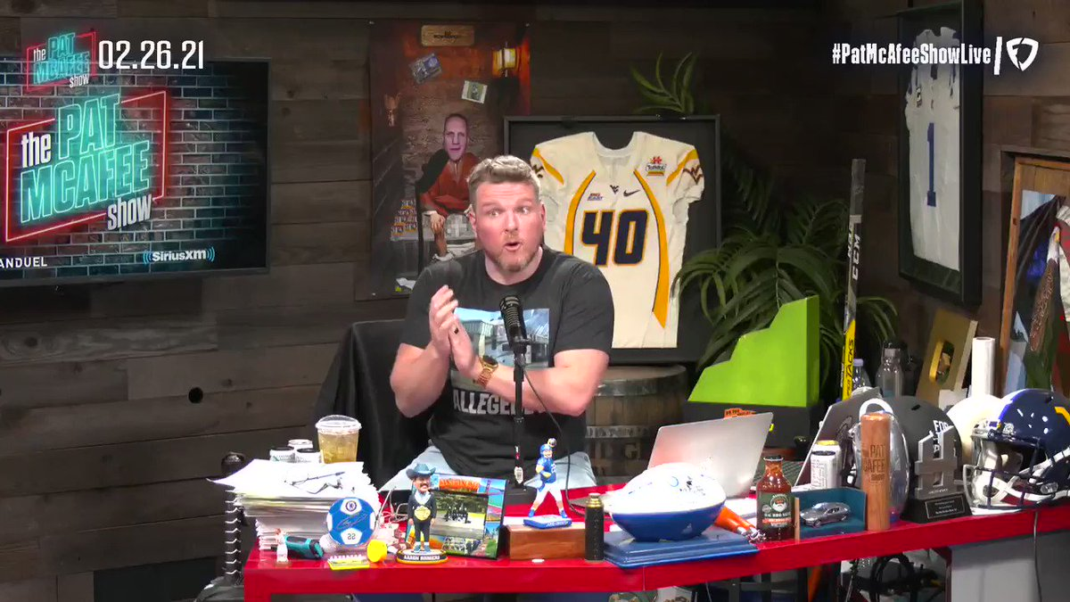 Now might be the perfect time to retire from wrestling #PatMcAfeeShowLIVE