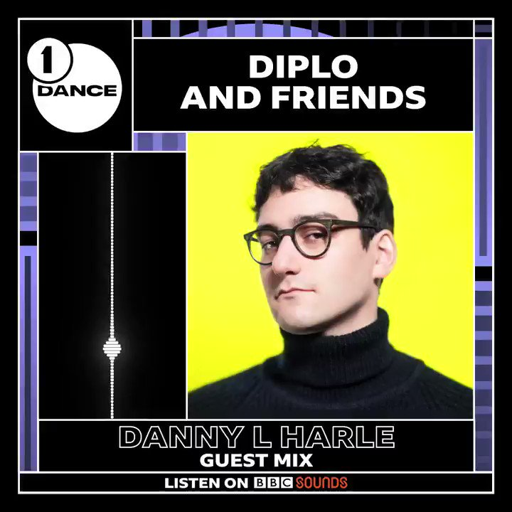 Now on @Diplo and Friends, we join @DannylHarle in the mix as he celebrates his new @ClubHarlecore release! #R1Dance   🔊 Download the @BBCSounds app and subscribe to the show here:   Get ready for... @charli_xcx @100gecs @HudMo and more 🚨🚨🚨