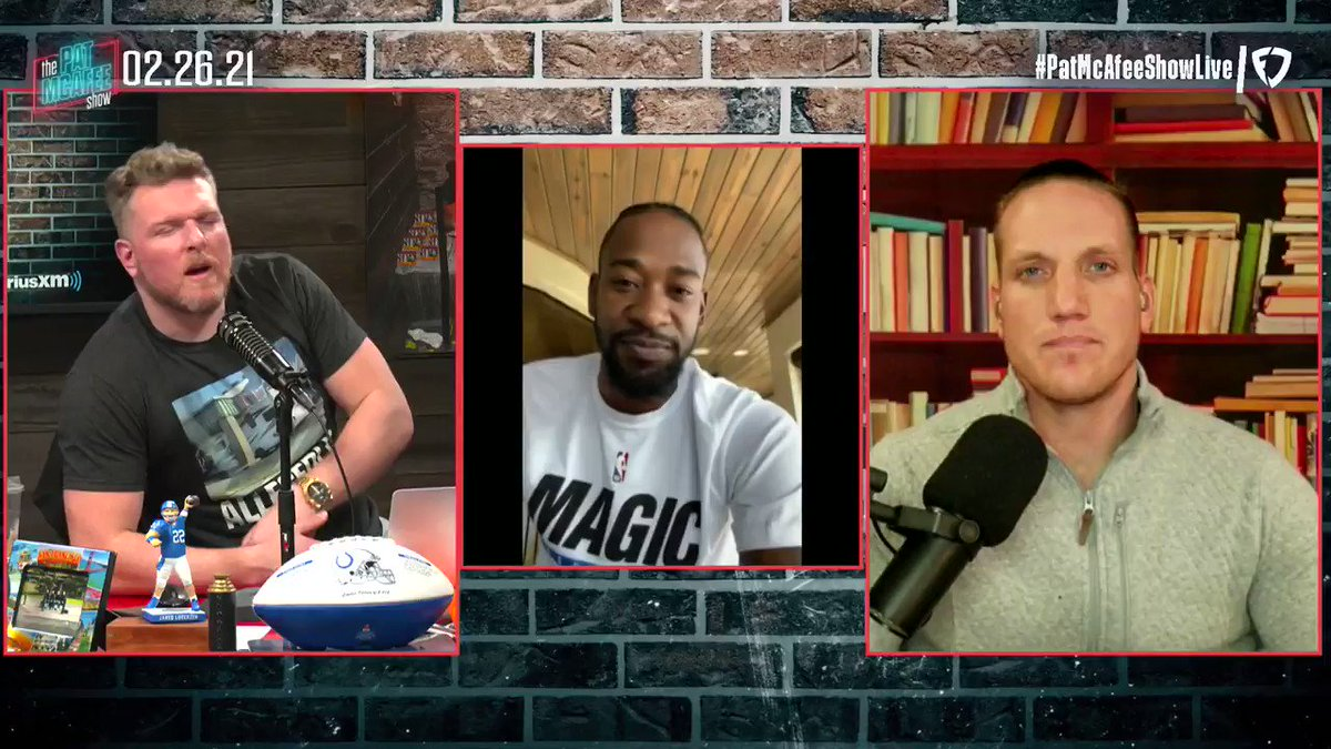"""""""They're asking players right now hey how would you feel about getting the vaccine if that meant you don't have to test in the morning""""  @TerrenceRoss says the #NBA has been asking the players their feelings on the vaccine #PatMcAfeeShowLIVE"""