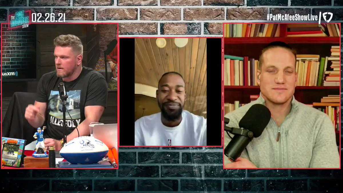 """Should the #NBA change the logo to Kobe?  """"I hope so. I really do. Kobe was my idol growing up so I'm all for that"""" ~ @TerrenceRoss #PatMcAfeeShowLIVE"""