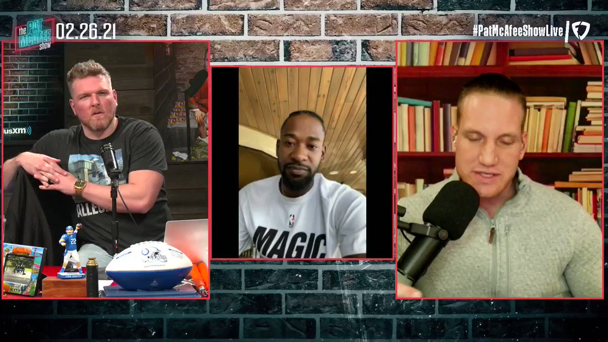 """""""Actually there is a kid.. Emoni Bates, he's in high school. For the last few years he's been regarded as the best high school player regardless of class, he's like a mini KD. If anyone could score in the #NBA I think it'd be that kid""""  @TerrenceRoss #PatMcAfeeShowLIVE"""