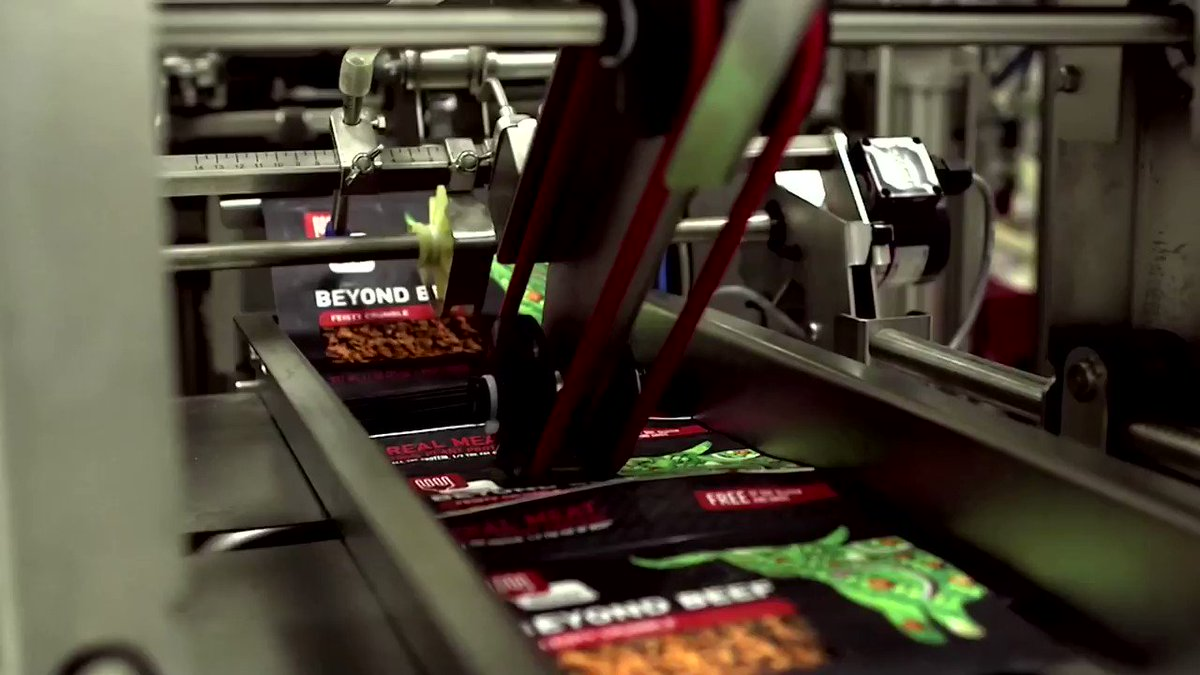 WATCH: Plant-based meat maker Beyond Meat clinches coveted deals with McDonald's and Yum Brands https://t.co/hmrlu4fJD0 https://t.co/3lRlmIzLQx