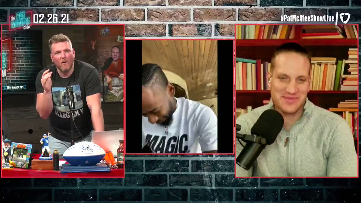 """""""It's a fun game it's like NBA Wallstreet.. There's a lot of money being tossed around. It's fun for everyone""""  @TerrenceRoss chats about #NBATopShot #PatMcAfeeShowLIVE"""