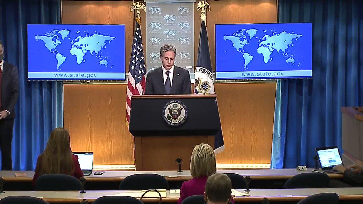 .@SecBlinken discusses the Biden-Harris Administration report on and accountability for the murder of Jamal Khashoggi.