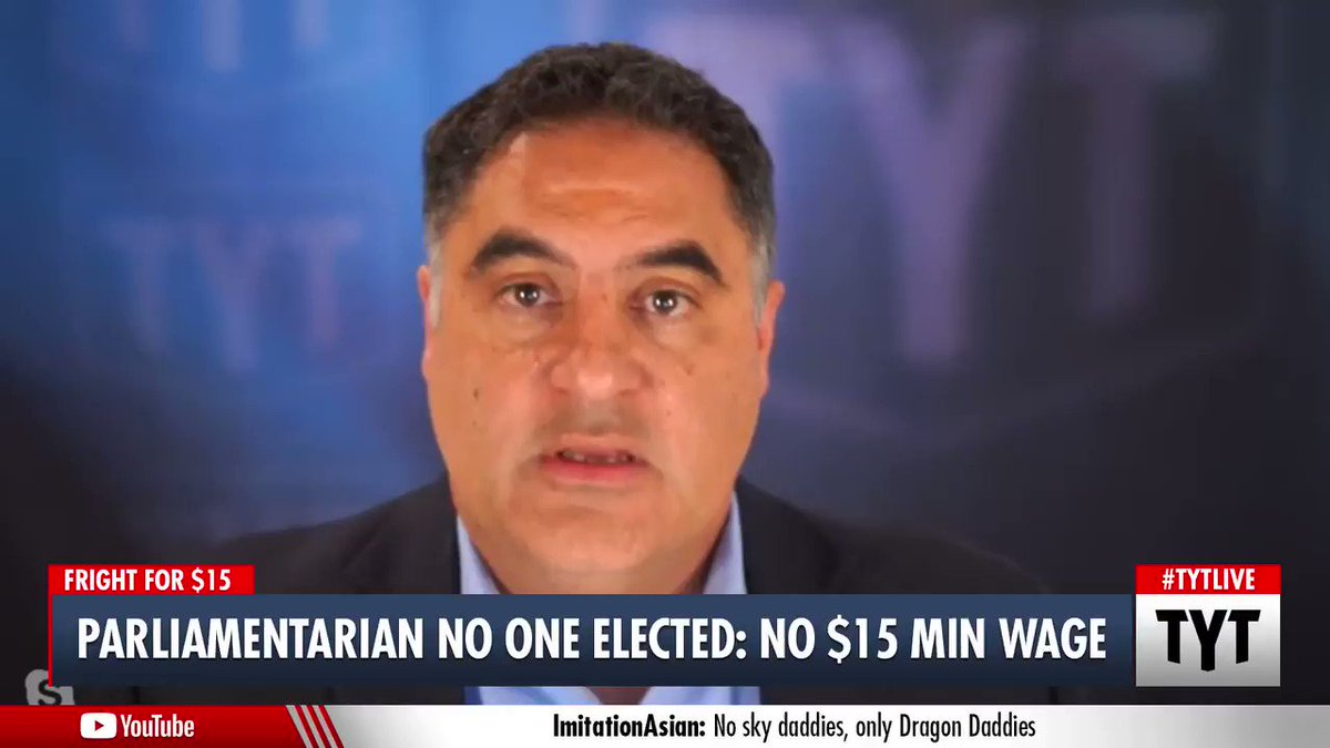 ".@cenkuygur #fightfor15 message to @BernieSanders #DontKillitBernie ""The budget chair decides if it goes in the bill. That is Bernie Sanders. That was the whole point of him being budget chair.""   Sign the petition:    #covidrelief #minimumwage"