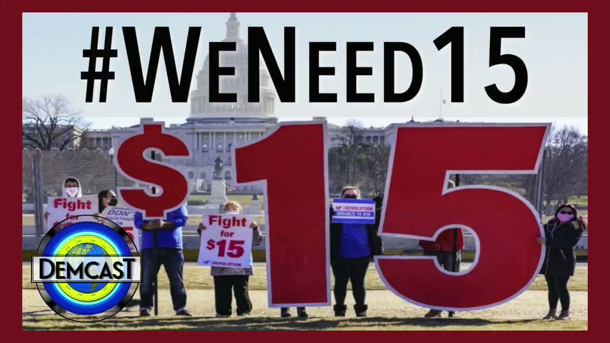 It's time.  Watch this video, amplify these voices, and tell your members of Congress to #FightFor15. They need to get this done, one way or another.  NEW FILM from @DemCastUSA & @pttrn_ntgrty: #WeNeed15