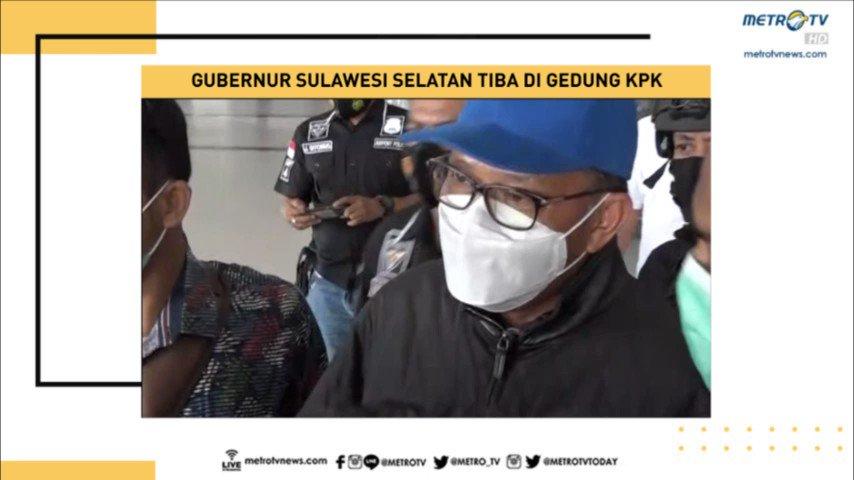 KPK mengamankan Gubernur Sulawesi Selatan, Nurdin Abdullah. Selain mengamankan Nurdin, 4 orang lainnya diduga juga diamankan oleh KPK di Kota Makassar, Sulawesi Selatan. #SPIMetroTV #KnowledgetoElevate