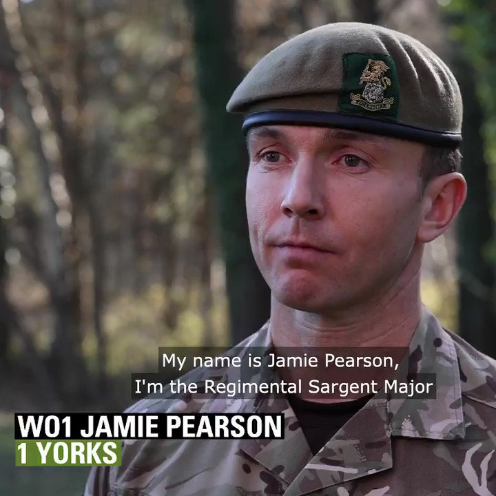 Today will see the funeral of Capt Sir Tom Moore, an inspiration to the entire country during the pandemic.  Yesterday, at the rehearsal WO1 Pearson, Regimental Sergeant Major 1st Battalion @YORKS_REGT told us of the time he met @captaintommoore  #FarewellCaptTom #WeSaluteYou