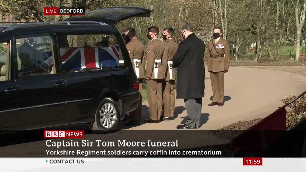 Rest easy, Captain Sir Tom Moore.
