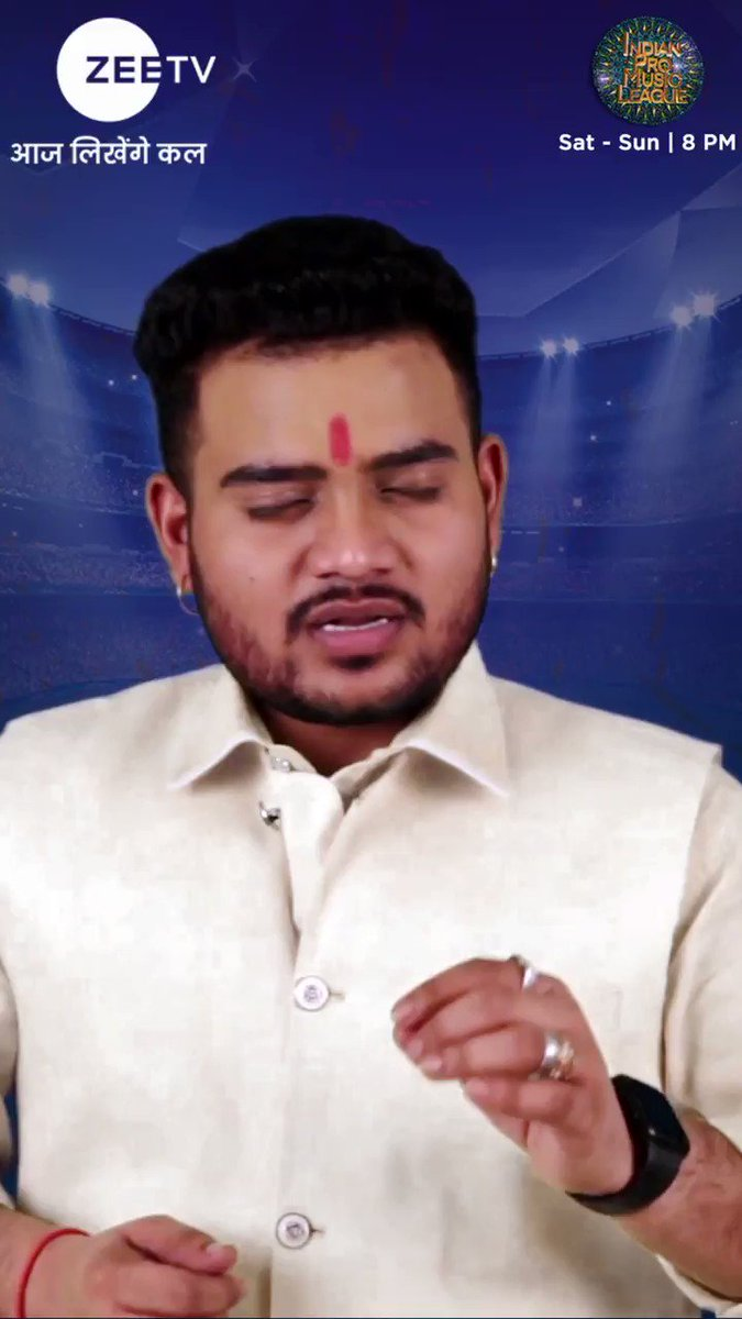 Apne jazbe ke saath #IPML ki trophy ko fateh karne ke liye, team #GujaratRockers se tayyar hain #HemantBrijwasi. Dekhiye #IndianProMusicLeague, Sat - Sun, sirf #ZeeTV par #DivyaBhaskarGujaratRockers #IPMLonZeeTV #SingerReel #IPMLUnplugged #HemantBrijwasi @Divya_Bhaskar