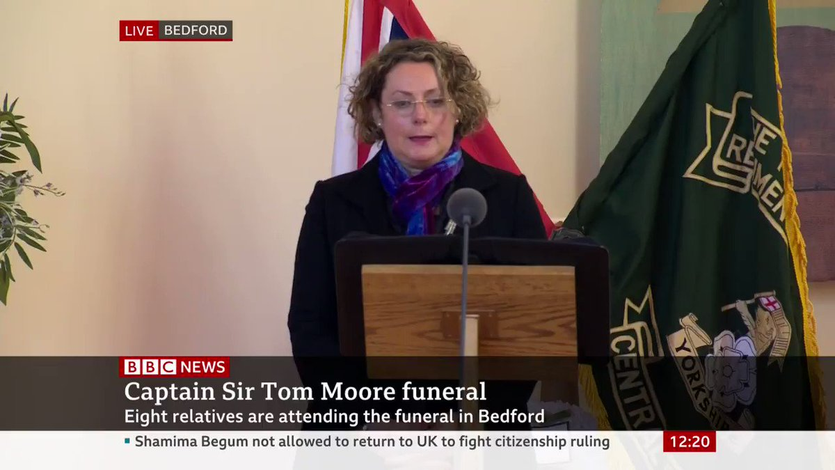 """You may be gone but your message and your spirit lives on"" Captain Sir Tom Moore's daughter, Lucy, pays heartfelt tribute to her father"