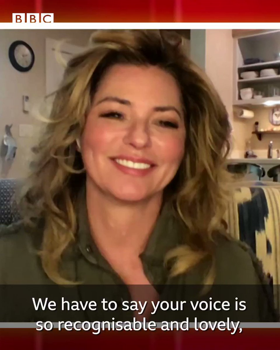 'It took a lot of rehabilitation and two surgeries, but now I can get real loud' 🎶  @ShaniaTwain opens up on how she lost her voice for almost 10 years due to illness.   Full interview 👉   #TheOneShow