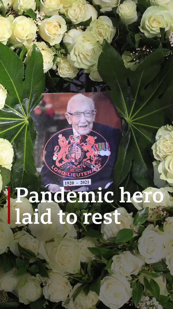 """We are all so proud of everything you have achieved and promise to keep your legacy alive."" Family of Captain Sir Tom Moore pays tribute to pandemic hero"