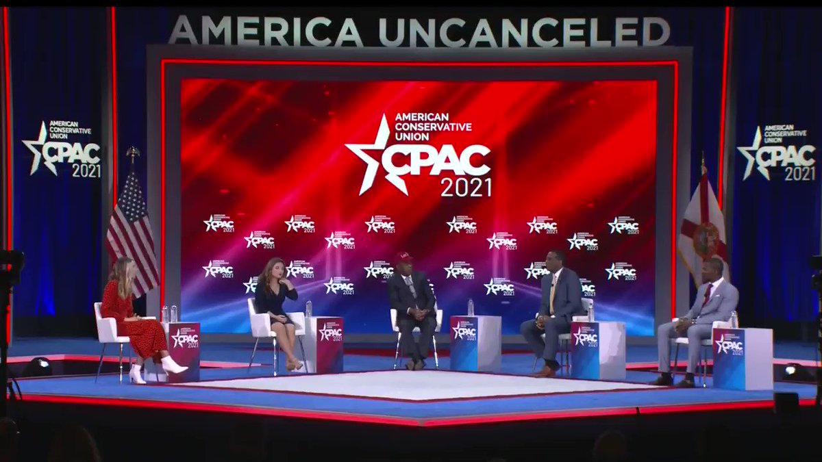 Rep @BurgessOwens explains how the next four years will give the American people a contrast so conservatives can win big in 2022 and 2024. #CPAC2021 #AmericaUnCanceled