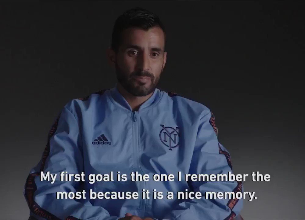 Celebrating Maxis birthday with a throwback to his first goal for @NYCFC! Happy birthday, @mmoralezoficial! 🎉
