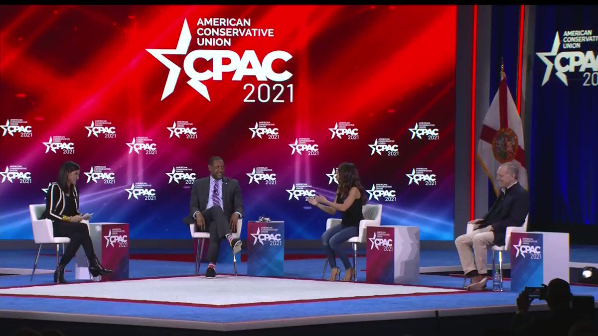 """""""The Republican Party is called the party of no, but we're saying no to their noes."""" Rep @laurenboebert #CPAC2021 #AmericaUnCanceled"""