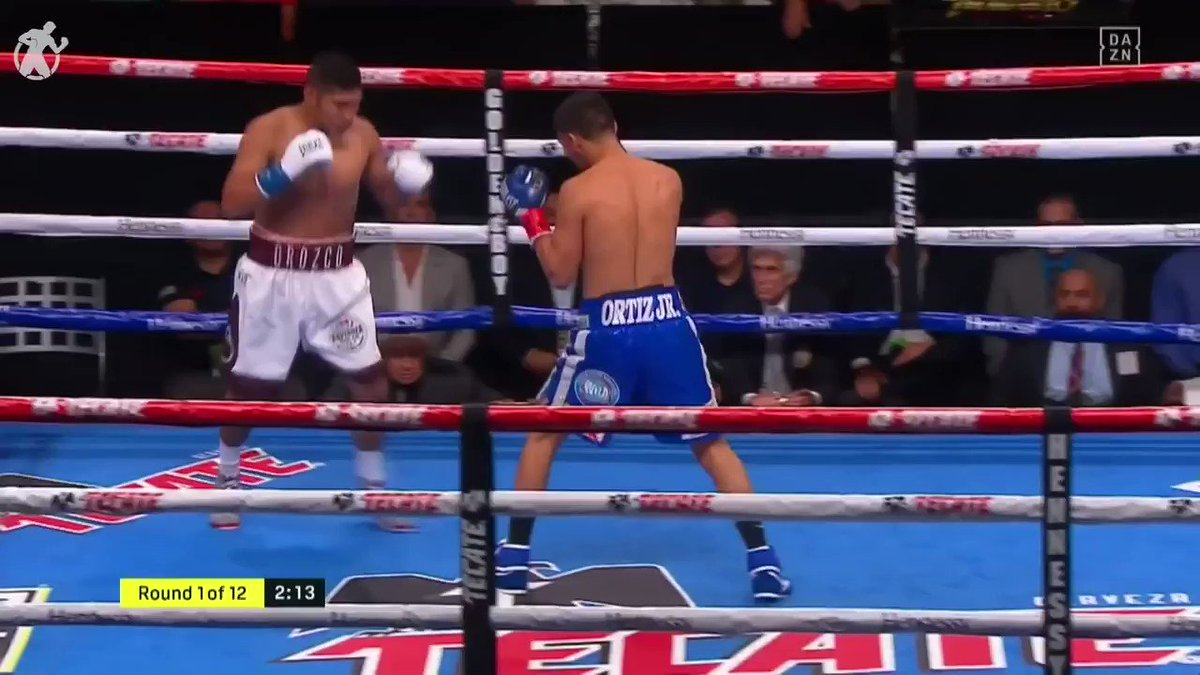 Vergil Ortiz stopped Antonio Orozco in round 6 🤯 @vergilortiz looks to prove hes ready for a world title shot if he beats Maurice Hooker on March 20th 🔥 #OrtizHooker @daznboxing