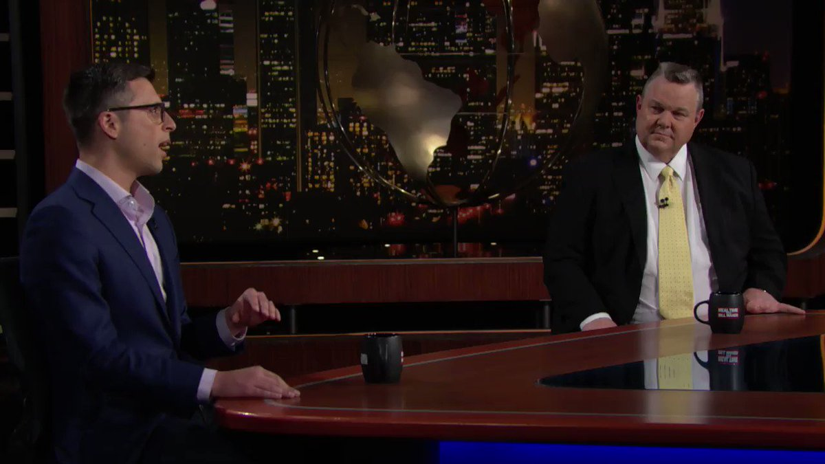"""""""It isn't enough to want government to do good things. You have to rebuild government so it can do good things.""""   Watch @BillMaher, @EzraKlein, and Senator @JonTester discuss how the filibuster went from being a bipartisan tool to a partisan weapon on last night's #RealTime:"""