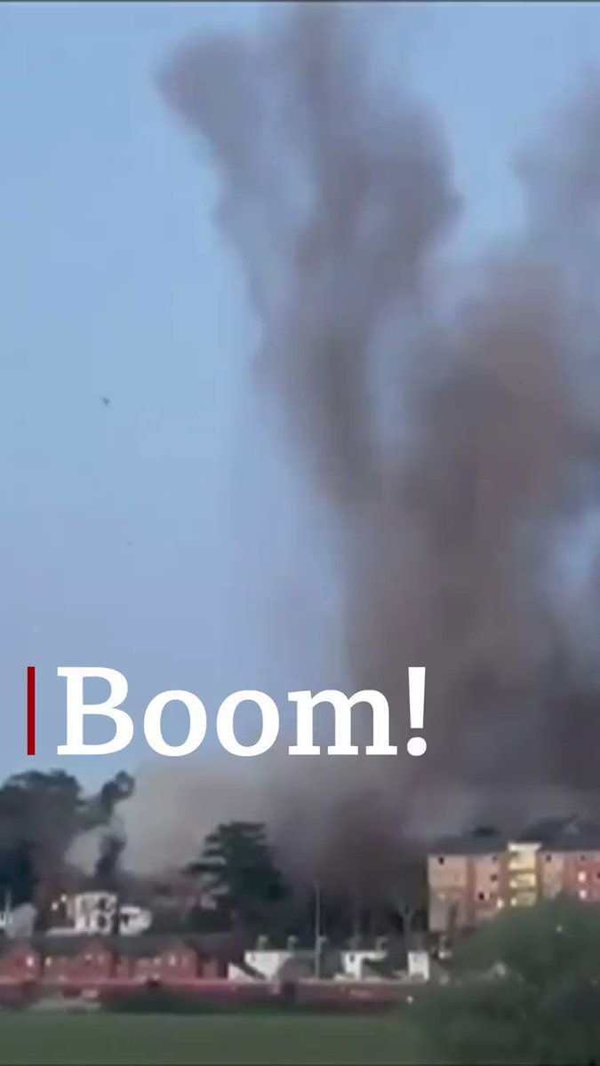 Watch the moment a World War Two bomb was detonated in Exeter bbc.in/3bOC911