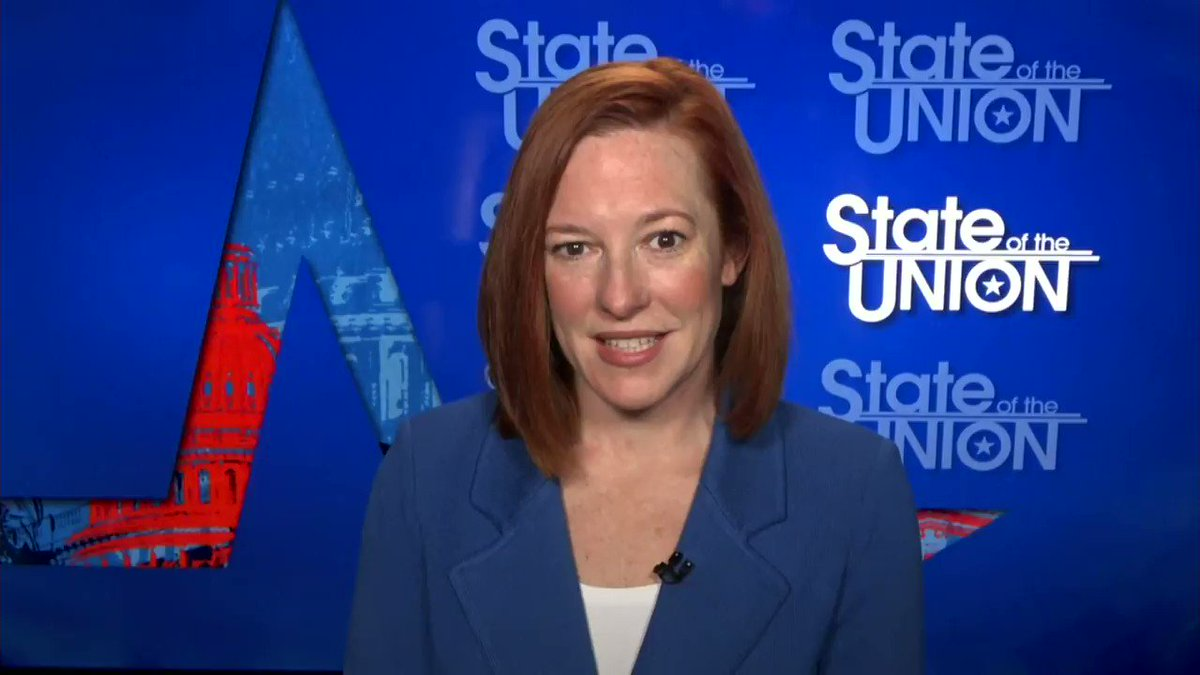 Jen Psaki: From the first day of the administration, we have been crystal clear, at every level from the president on down, were going to recalibrate this relationship and turn the page from the last four years. hill.cm/0IWETMV