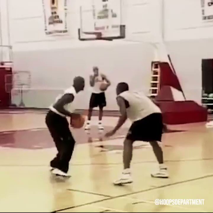 """The time a retired Michael Jordan exposed Corey Benjamin 1 on 1.  """"Don't call me out of retirement for no s*** again."""""""