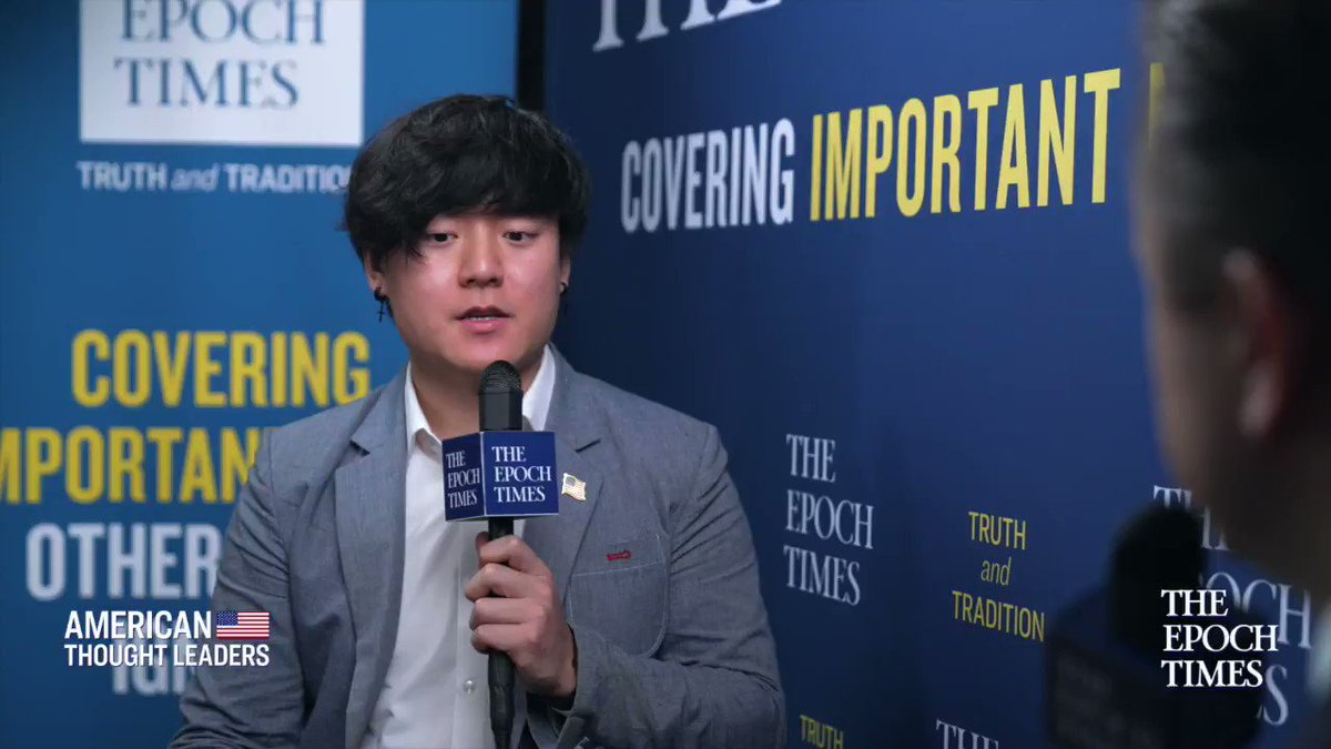 [To] everyone who is young & maybe a non-white person…you dont have to conform to the left. ...Even if people do cancel you, therell be people who accept you & welcome you with open arms, says @thekangminlee #CPAC2021 Subscribe: ept.ms/ATL