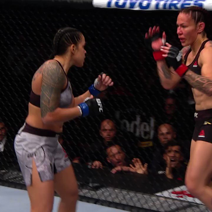 Amanda @Amanda_Leoa Nunes beats Cris Cyborg at #UFC232 to become a double #UFC champion 👊👊  Next up for the 'The Lioness' is 🇦🇺 Megan Anderson this weekend at #UFC259