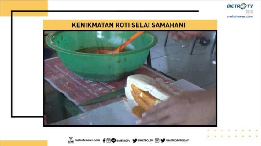 Bagi Anda yang menyukai makanan manis, harus mencoba kue khas Aceh yang satu ini, roti selai samahani. Rasa manisnya yang khas menjadikan kudapan ini semakin nikmat disantap bersama kopi. #NewslineMetroTV #KnowledgeToElevate
