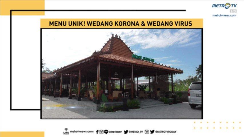 Di Yogyakarta terdapat sebuah tempat makan yang memiliki menu yang unik yakni wedang korona & wedang virus. Tak hanya menu yang unik, pengunjung akan dimanjakan dengan pemandangan gunung merapi. #NewslineMetroTV #KnowledgeToElevate