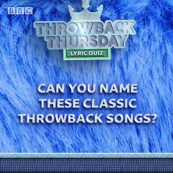 How many of these six classic throwback songs can you name? 💿 🎵
