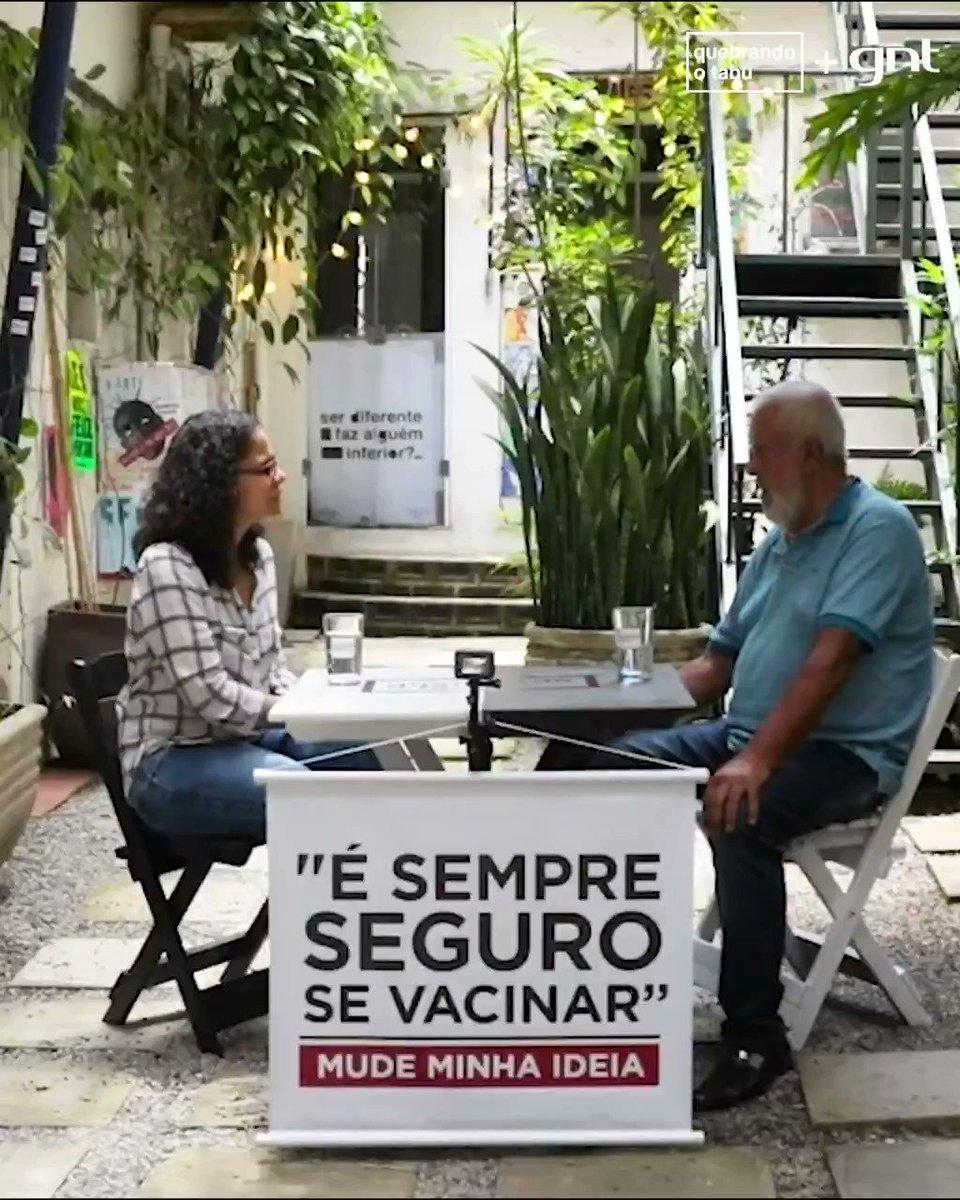 """Qual a sua opinião sobre VACINAÇÃO? Tem episódio da nova temporada do Mude Minha Ideia no ar e esse é o tema! Temos a médica Denize Ornelas, que defende que """"É sempre seguro se vacinar"""", e 3 convidados dialogando sobre esse assunto. Vamos conversar? https://t.co/k7epHlVYEc https://t.co/CNPmrNLYIG"""