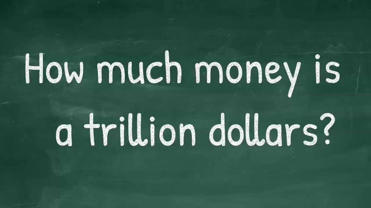 Replying to @RepFredKeller: How much money is $1 trillion?