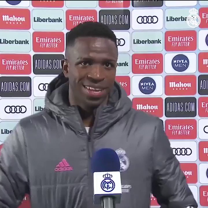 💬 @vinijr: ''We're sad that we didn't get the victory that we needed. We would have won all five matches going into the derby but we couldn't get that last one, it's a draw. We have to continue working hard to achieve big things this season.''