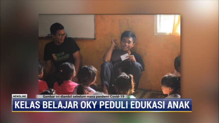 Seorang pemuda bernama Oky Setriarso tergugah untuk membantu pendidikan anak usia dini dan anak putus sekolah. Oky mendirikan kelas belajar yang diberi nama Kelas Belajar Oky di kampung kerang Hijau, Cilincing, Jakarta Utara. #NewslineMetroTV #KnowledgeToElevate