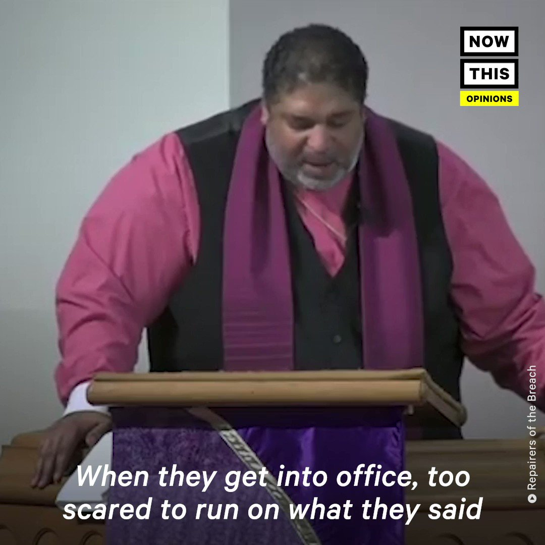 'These politicians want to hold poor and low-wealth people captive in poverty and play games.' — @RevDrBarber went off on Republicans AND Democrats for not raising the minimum wage (with @BRepairers)