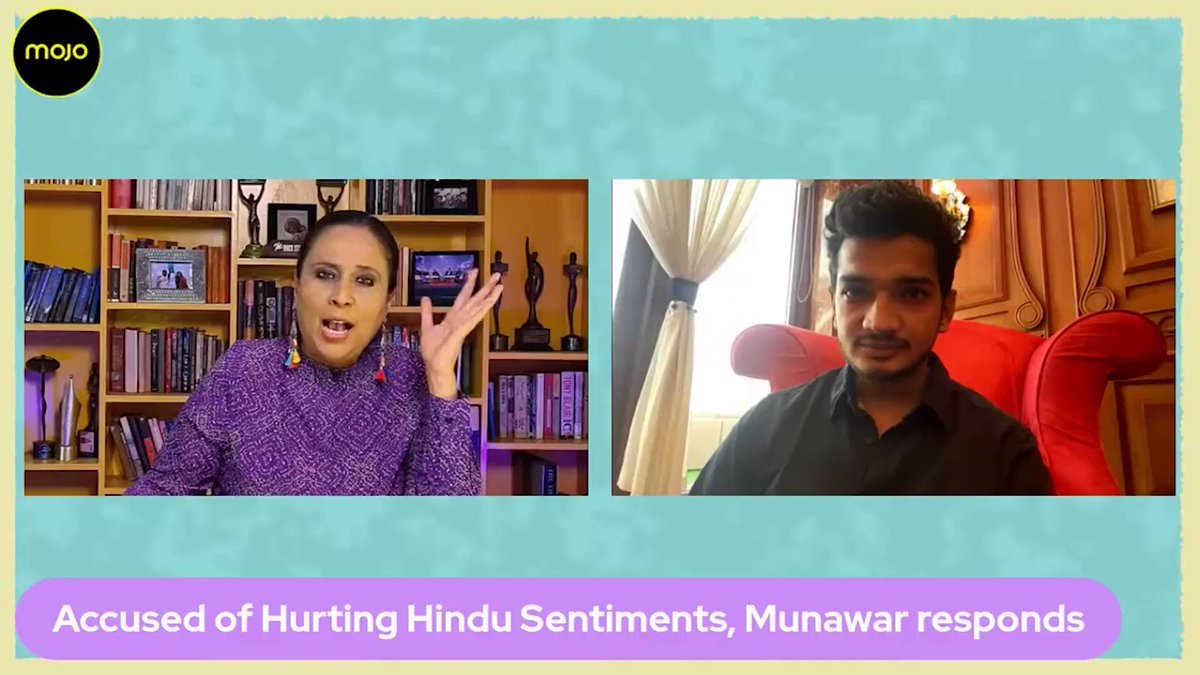 """""""37 days in jail robbed me of my self respect. I would wonder, why am I here,  have I killed someone, I've done nothing""""- #MunawarFaruqui is on @themojostory revealing he now takes sleeping pills at night but wont give up on comedy, now or ever. Full show:"""