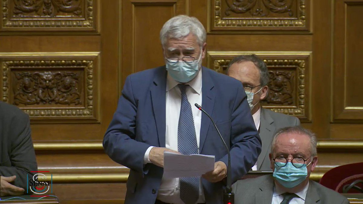 #COP26  Question de @RonanDantec au gouvernement :  «Comment comptez-vous assumer, à Glasgow en novembre prochain, cet adieu français à l'accord de Paris que nous avions pourtant porté il y a 6 ans par une mobilisation exceptionnelle de notre diplomatie ?»