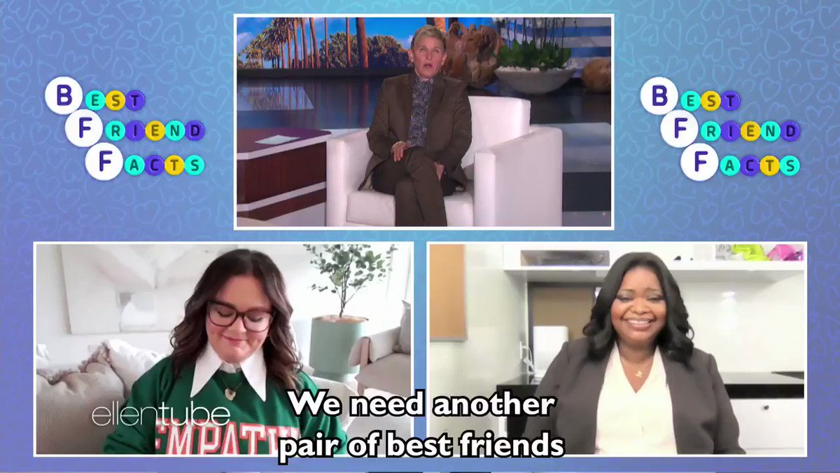 Best friends @MelissaMcCarthy and @OctaviaSpencer tricked these two best friends. They tricked 'em good.