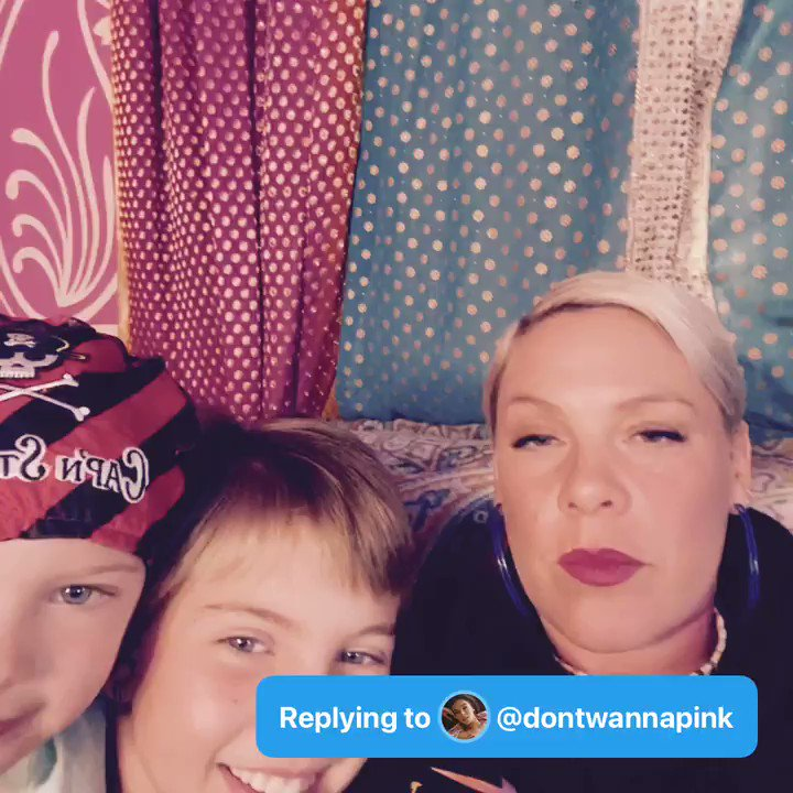 @Pink Q: #AskPinkAndWillow where's one place you'd both really like to go? - @dontwannapink  A: https://t.co/SKz7fthsKB